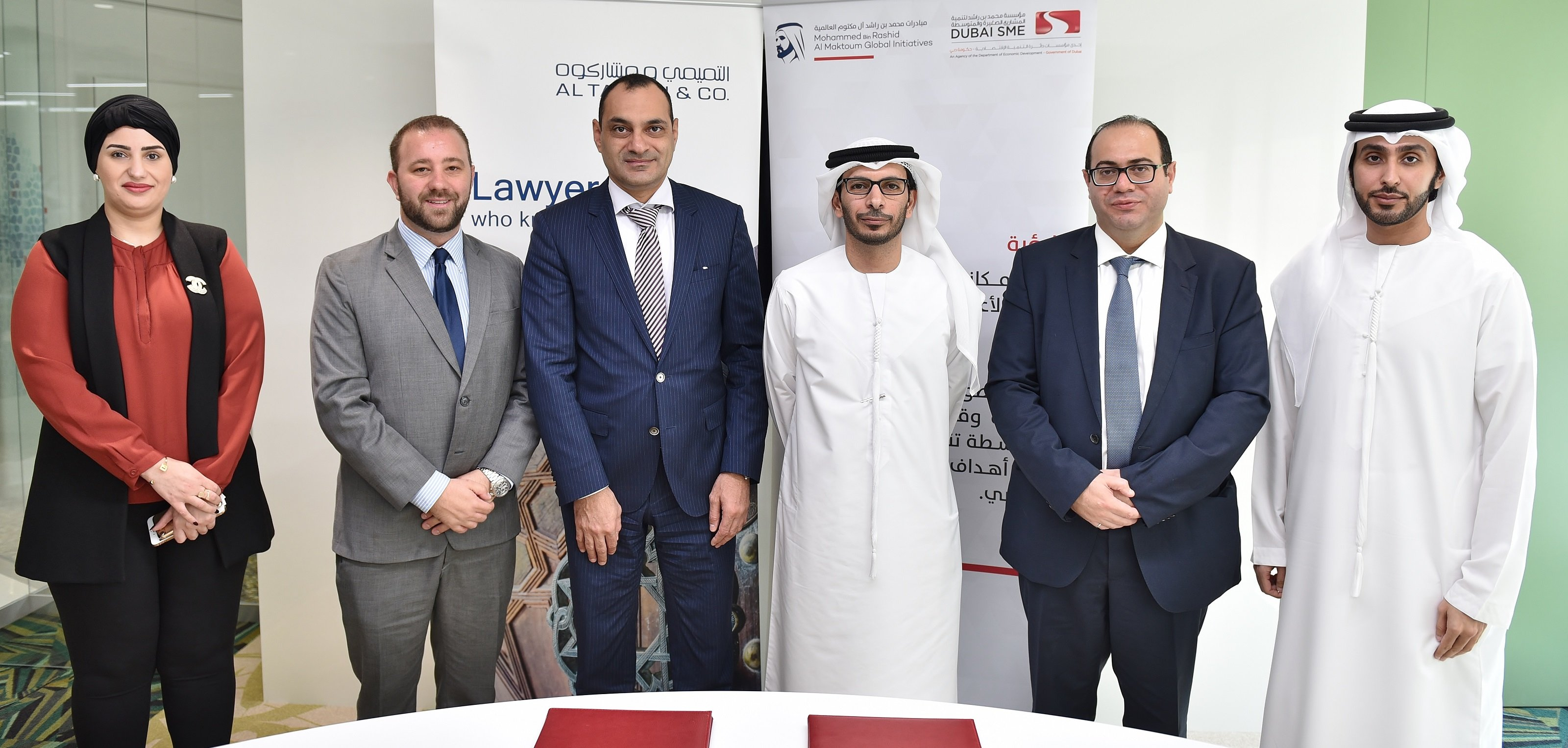 اتفاقية تعاون في دبي  لدعم رواد الأعمال من أصحاب المواهب والابتكارات