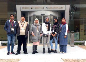 ايرباص تستضيف طلبة اماراتيين في تولوز