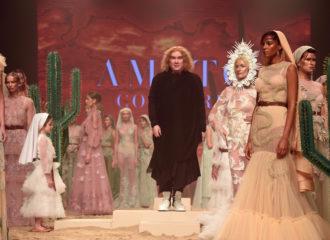عرض تصاميم فاشن فورورد خلال مهرجان دبي السينمائي الدولي