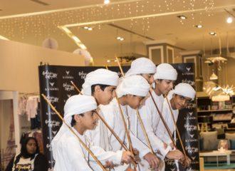 بيت الكندورة، أزياء اماراتية للأطفال في غاليري لافاييت