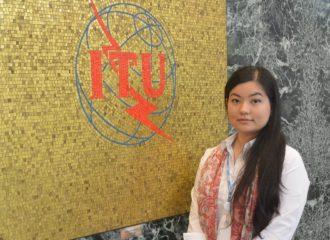 الاماراتية سارة سفائي من دو تشارك في دورة تدريبية مع الاتحاد الدولي للاتصالات