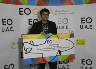 طالب يفوز بالنسخة الإماراتية من جائزة رواد الأعمال الدولية