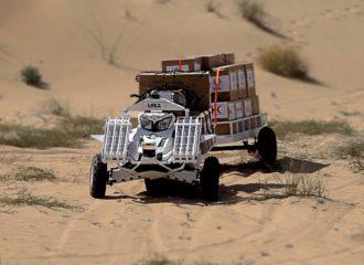 مركبة غير مأهولة طورها معهد مصدر تنافس على جائزة اماراتية رفيعة