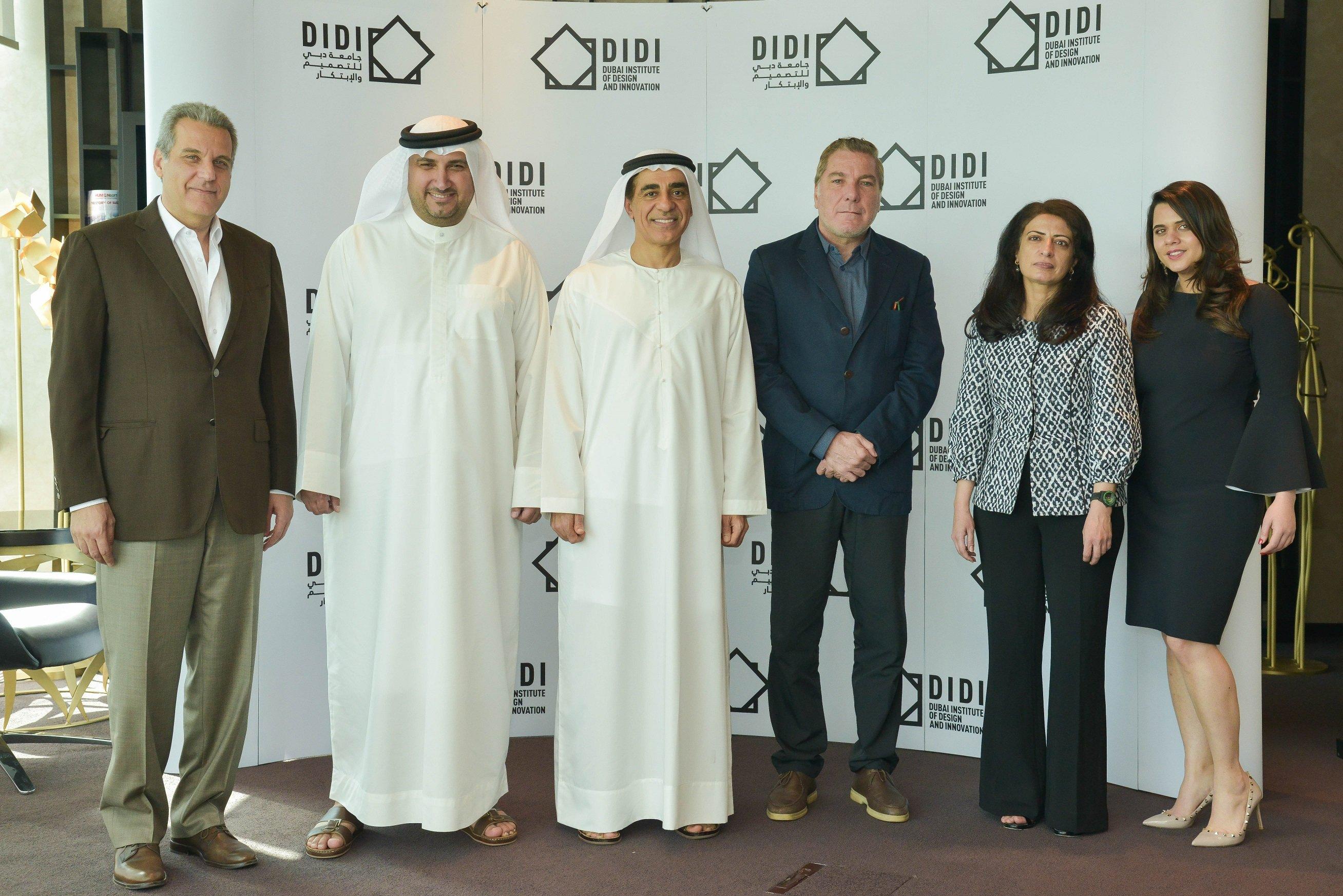 جامعة دبي للتصميم والابتكار تعلن عن أعضاء مجلس ادارتها