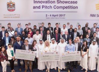 الفائزون بمنتدى AIM Startup