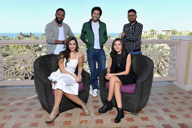 «نجوم الغد» ضمن مهرجان دبي السينمائي يدعم خمسة من النجوم الشباب العرب