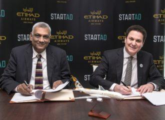 """شراكة بين""""ستارت إيه دي"""" والاتحاد للطيران تعزز ريادة الأعمال في قطاع الطيران"""