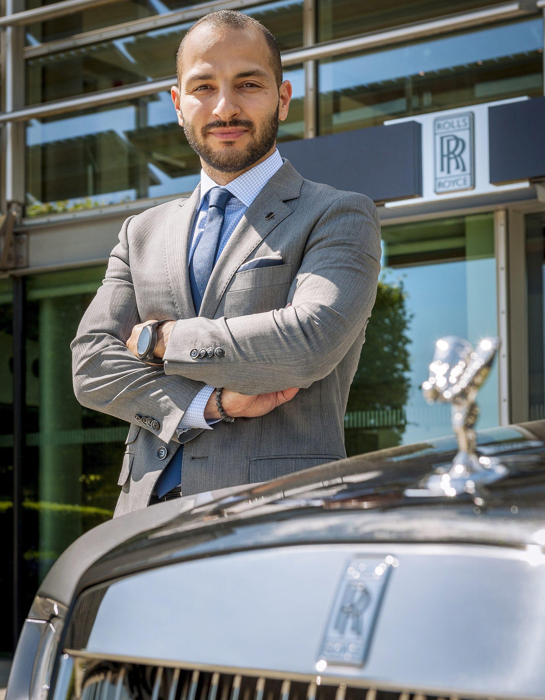 الشاب رامي جودي مديراً للاتصال والعلاقات العامة لمنطقة الشرق الأوسط وأفريقيا والهند في رولز-رويس