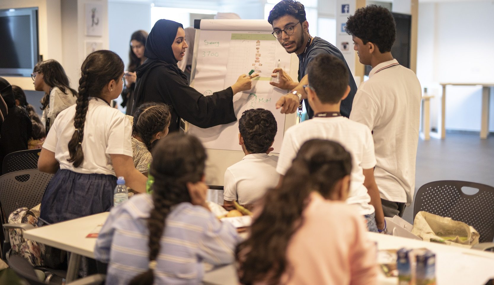 مخيم صيفي لأصحاب المهارات في الامارات
