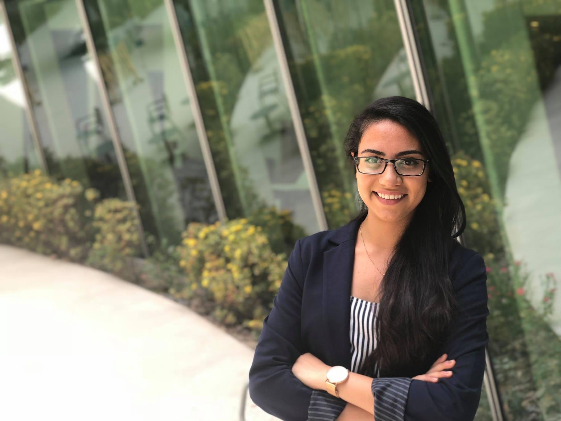 الطالبة المصرية آية البحيصي تفوز بصندوق التعليم العالمي(GET)