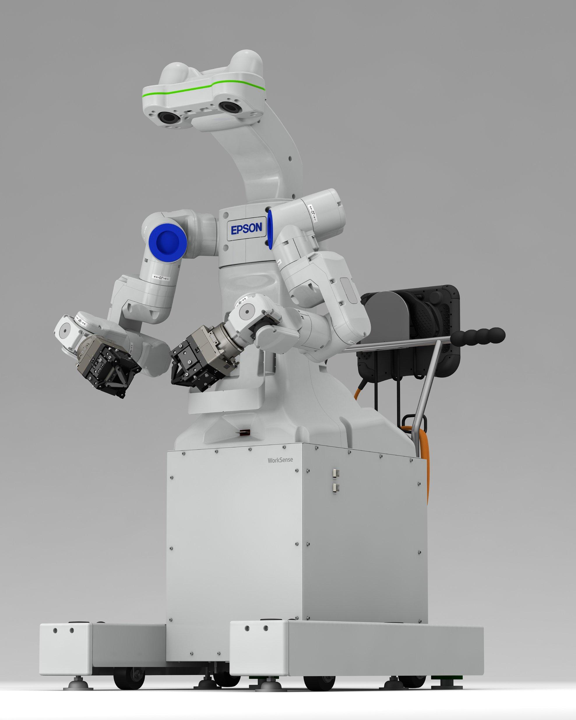 للراغبين بالفوز بروبوت الاشتراك بمسابقة Win-a-robot من Epson