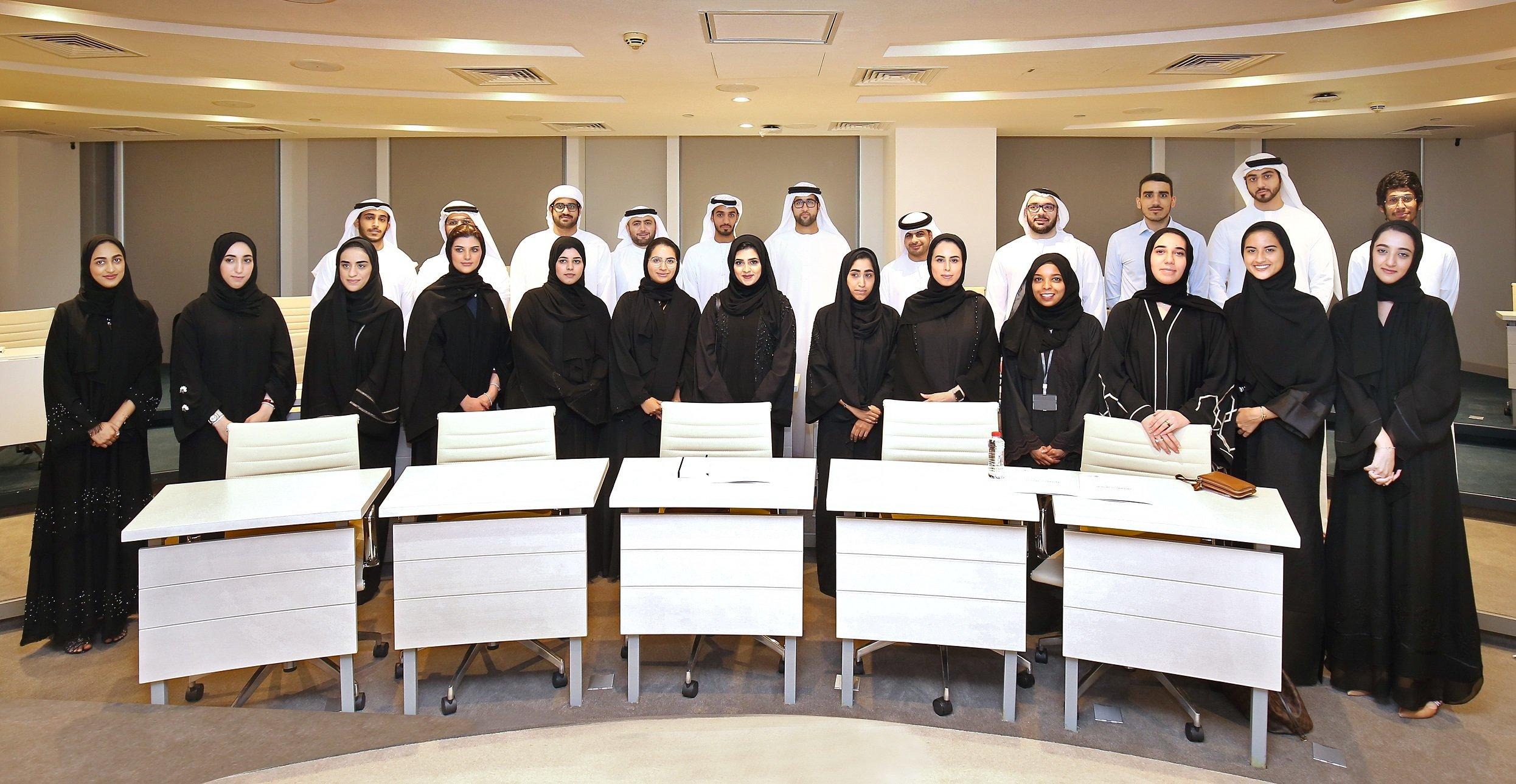 مركز دبي المالي العالمي ينظم برنامجاً تعليمياً لتدريب المواهب الإماراتية في مجال المال والأعمال