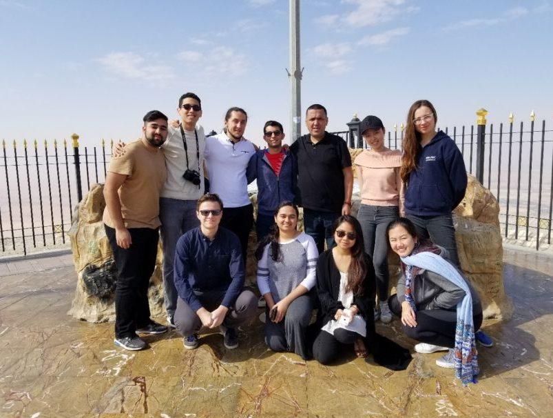 طلاب جامعة نيويورك أبوظبي يشاركون هذا العام بـ 80 دورة تعليمية في 24 وجهة حول العالم
