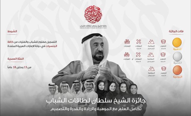 اطلاق جائزة الشيخ سلطان لطاقات الشباب