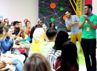 جامعة أبوظبي تستضيف فعاليات برنامج جامعة ستانفورد للزمالة في الابتكار