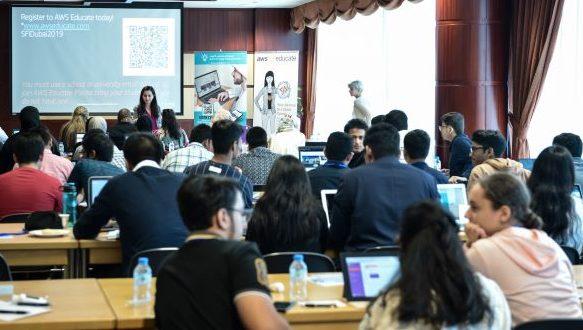 دورة لطلبة في الامارات حول تكنولوجيا الحوسبة السحابية بالتعاون مع البنك الدولي