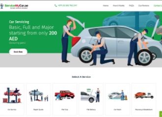 إطلاق منصة الكترونية لصيانة السيارات في دبي
