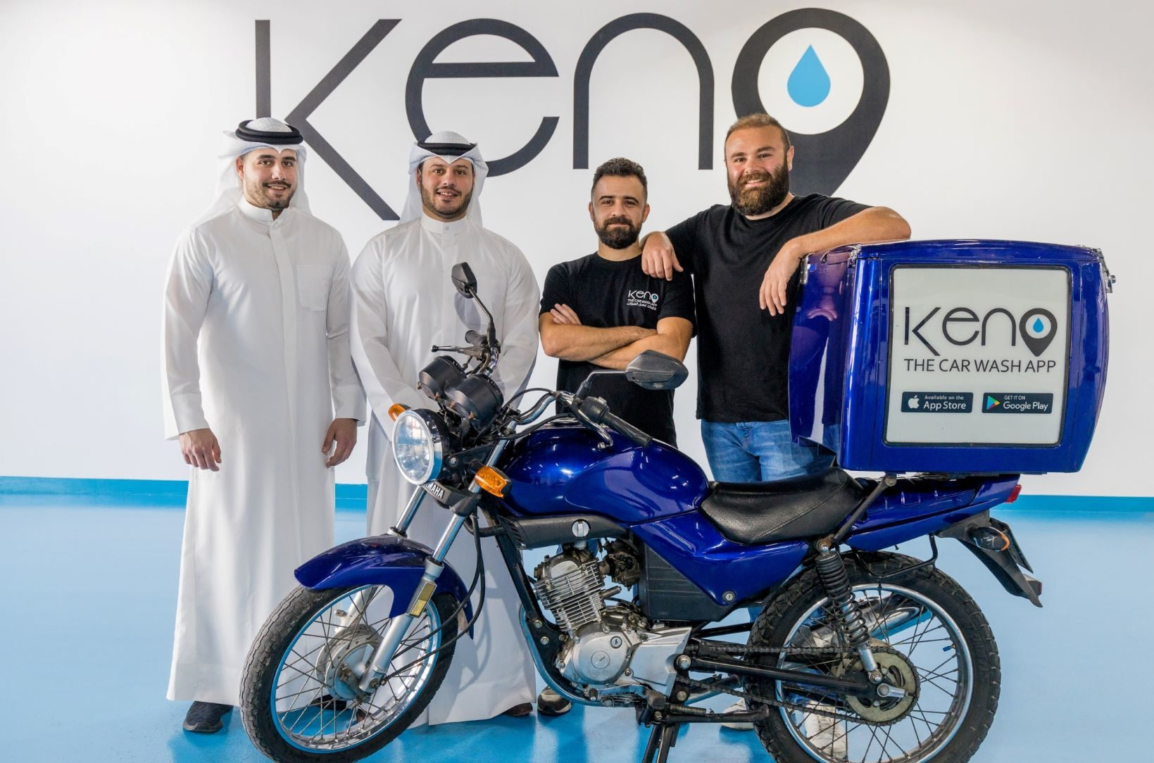 """منصة لمغاسل السيارات في الخليج تستثمر في تطبيق """"كينو"""" للعناية بالسيارات عند الطلب"""