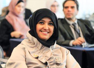 طلبة جامعة أبوظبي يعرضون أفكارهم أمام مؤتمر دولي لأنظمة التصوير