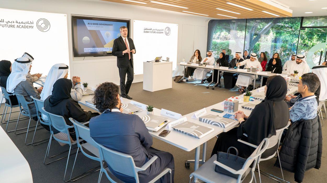 أكاديمية دبي للمستقبل تنظم دورة تدريبية لتطوير مهارات توظيف التكنولوجيا