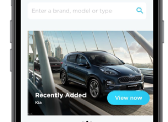 تطبيق Invygo قيادة سيارة برسوم شهرية